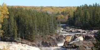 Rivière Mistassini, minicentrale 11e chute